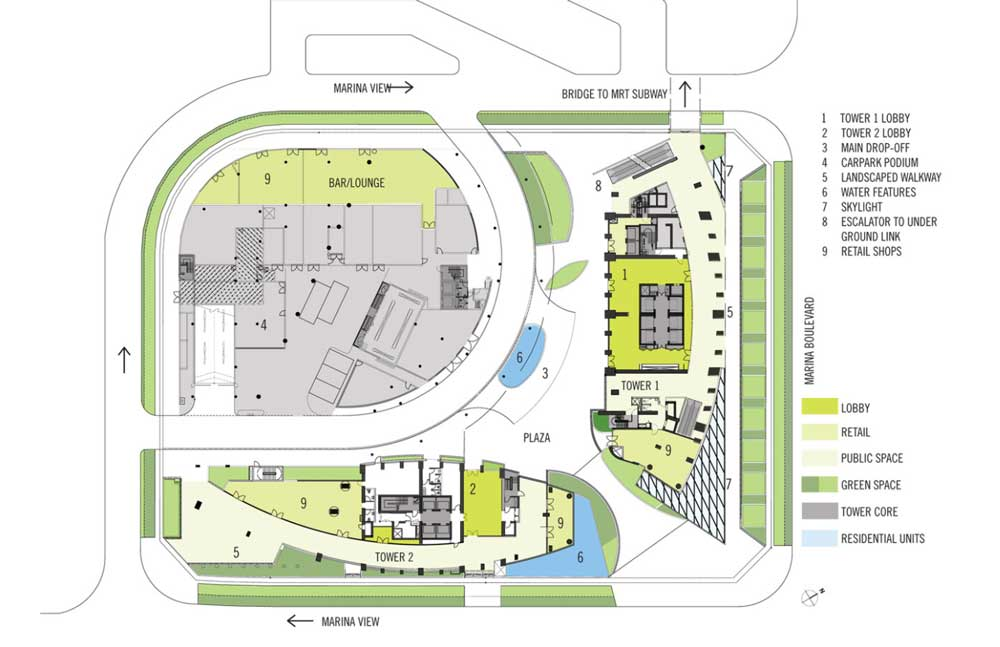 The Sail Site Plan And Facilities